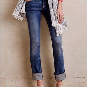 ANTHROPOLOGIE Pilcro Parallel Jeans 26